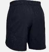 UA Shorts Stretch Woven - Black