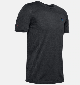 UA T-shirt Rush Seamless fitted - Black