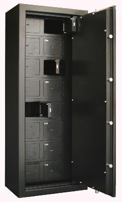 ARMOIRE FORTE 16 COMPARTIMENTS