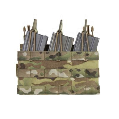 WAS - RPC - Removable Triple Molle Open Pouch Panel