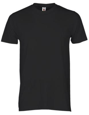 T-shirt 100% coton - NOIR - Lot de 5