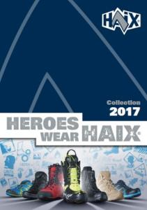 CATALOGUE HAIX 2017