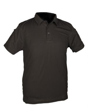 POLO TACTIQUE QUICKDRY BLACK